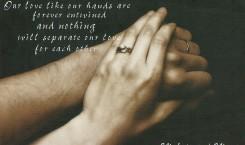 Wedding - hands -1
